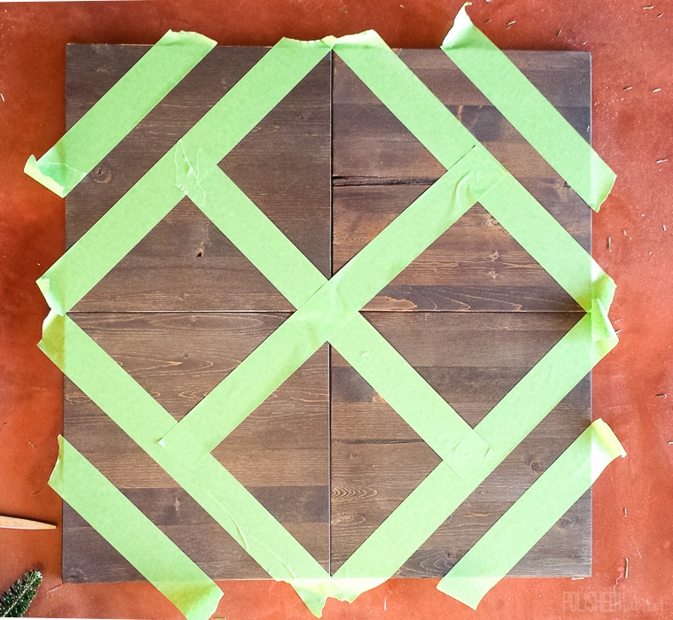 Use Frog Tape to Create Chic Custom Art!