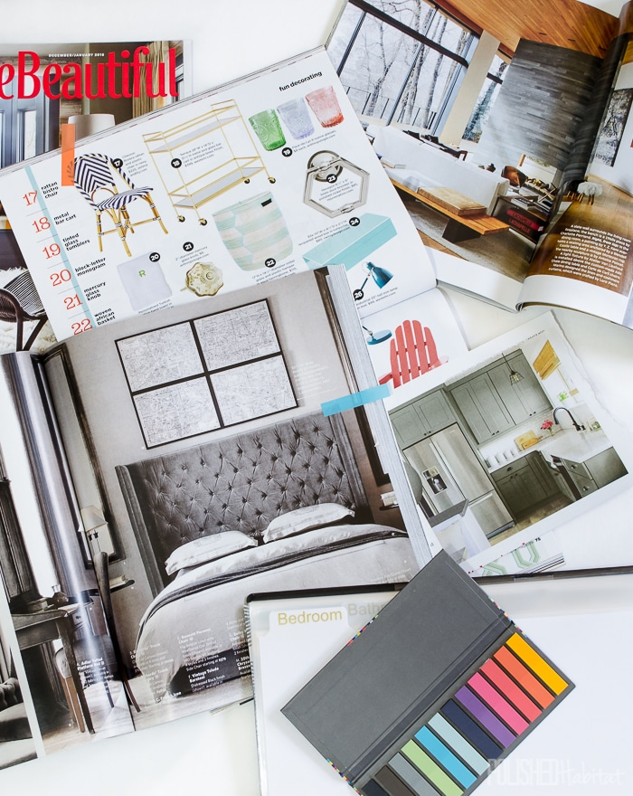 Turn your home improvement dreams and ideas into reality with this three-part series. This final week is all about organization. How do you keep track of the 97 ideas you have for your home every day?