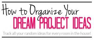 Organize-Home-Projects