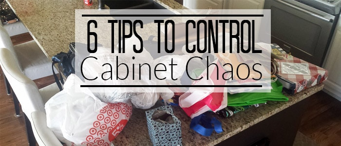 6 Tips to Control Cabinet Chaos – Pantry Edition