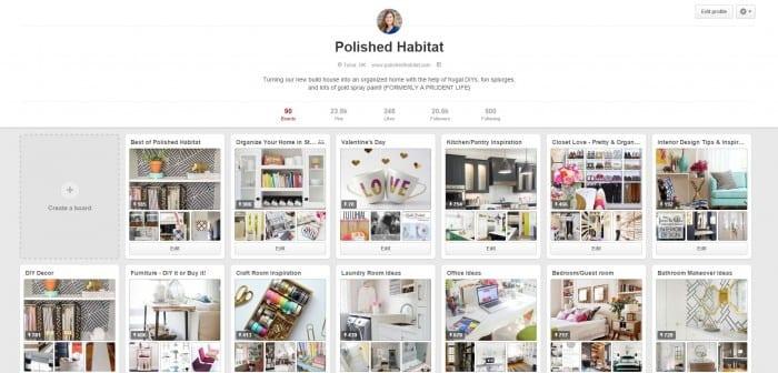 Polished Habitat on Pinterest