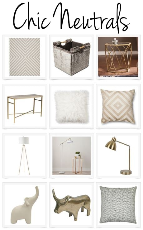 Add year round style with Polished Habitat's favorite chic neutrals