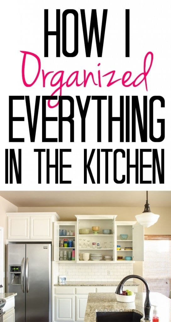 Kitchen A Mess? This Post Shows How I Organized Everything From Spices To  Rubbermaid Containers