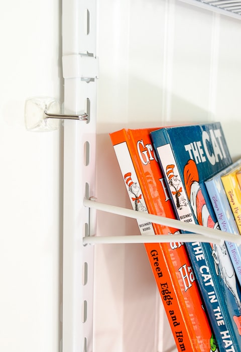 Secure hanging pantry organizers with Command Hooks for extra stability.