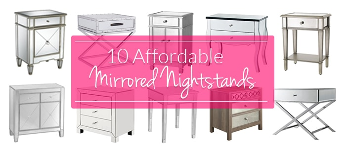 The Hunt for a Cheap Mirrored Nightstand