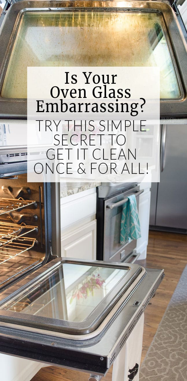 How to clean oven glass cleaning oven glass doesnt have to take all day this no chemical tip eventelaan Images