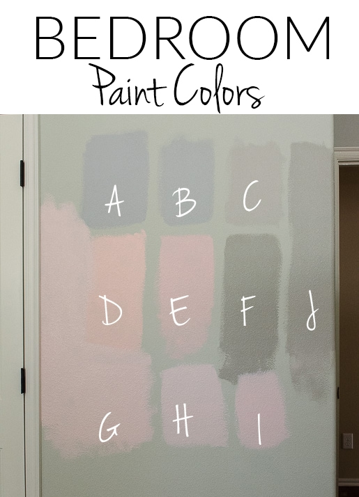 Master Bedrooms Colors - 10 Gray & Pink Paints Perfect for Bedrooms.