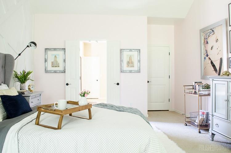 Modern Glam Bedroom - Polished Habitat