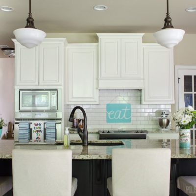 Inexpensive Summer Decor for the Kitchen