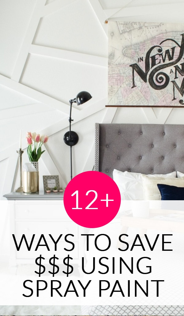 12 Ways to Update Your Home Decor with Spray Paint