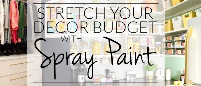 12 Ways to Stretch Your Decor Budget with Spray Paint