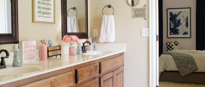 How to Organize the Master Bathroom In Style