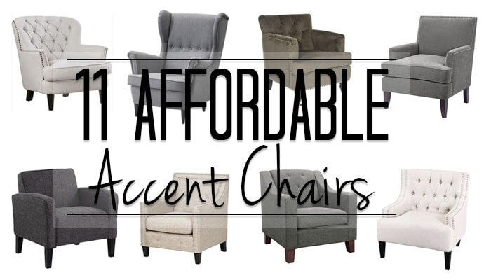 11 Options for an Affordable Accent Chair from Traditional to Modern and everything in between