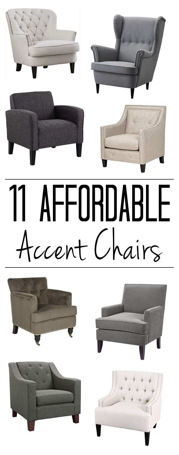 11 Accent Chairs Under $350 - Polished Habitat