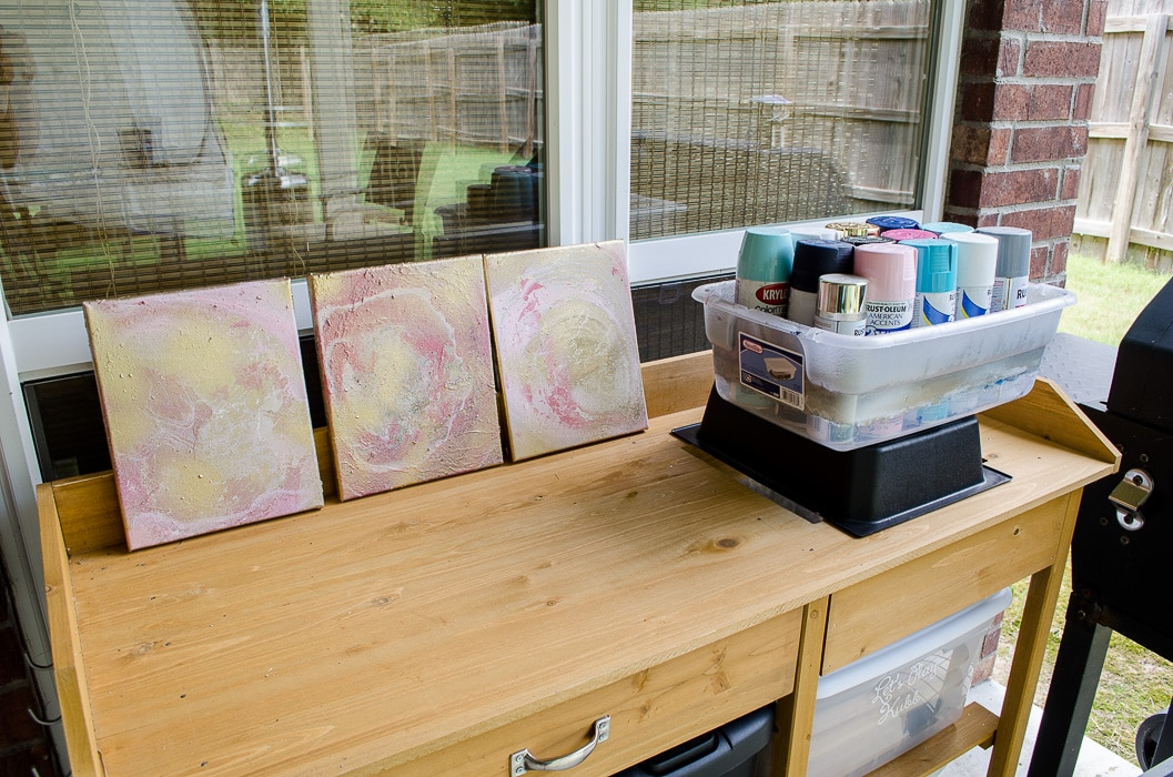Marbling with Spray Paint-32