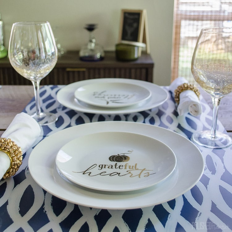 Fall Table Setting Featured