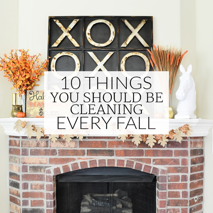 Fall Cleaning List Featured