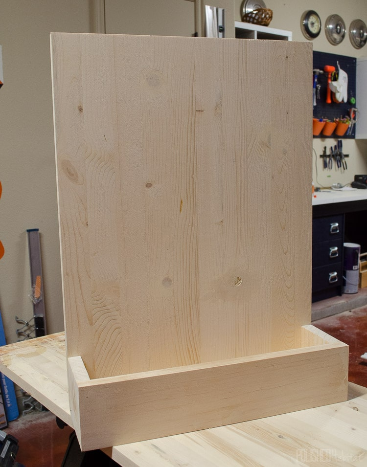 DIY Paint Brush Holder Tutorial - Garage Organization