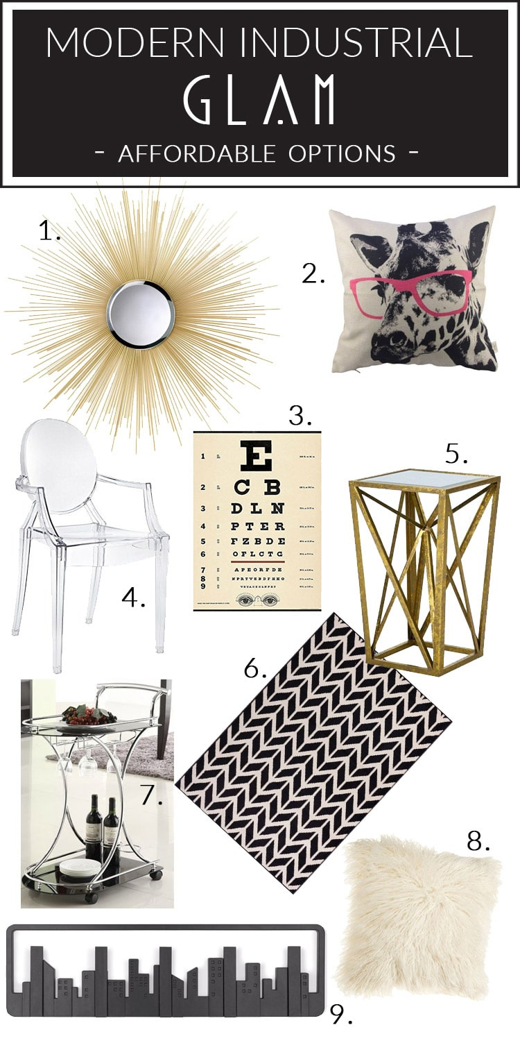 Modern Industrial Glam Home Style Before Amp After Photos