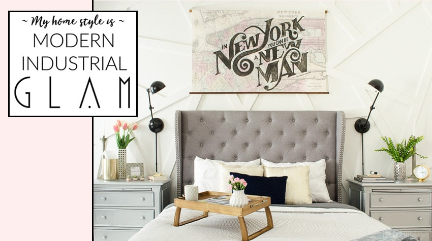 Modern Industrial Glam Home Style Before After Photos