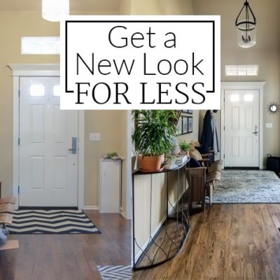 How I Got a High-End Look for Less {Entryway Before & After}