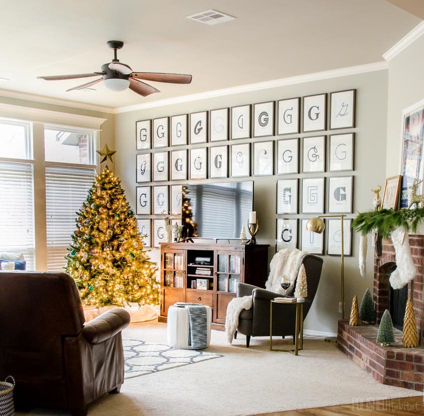 Polished Habitat Christmas Home Tour