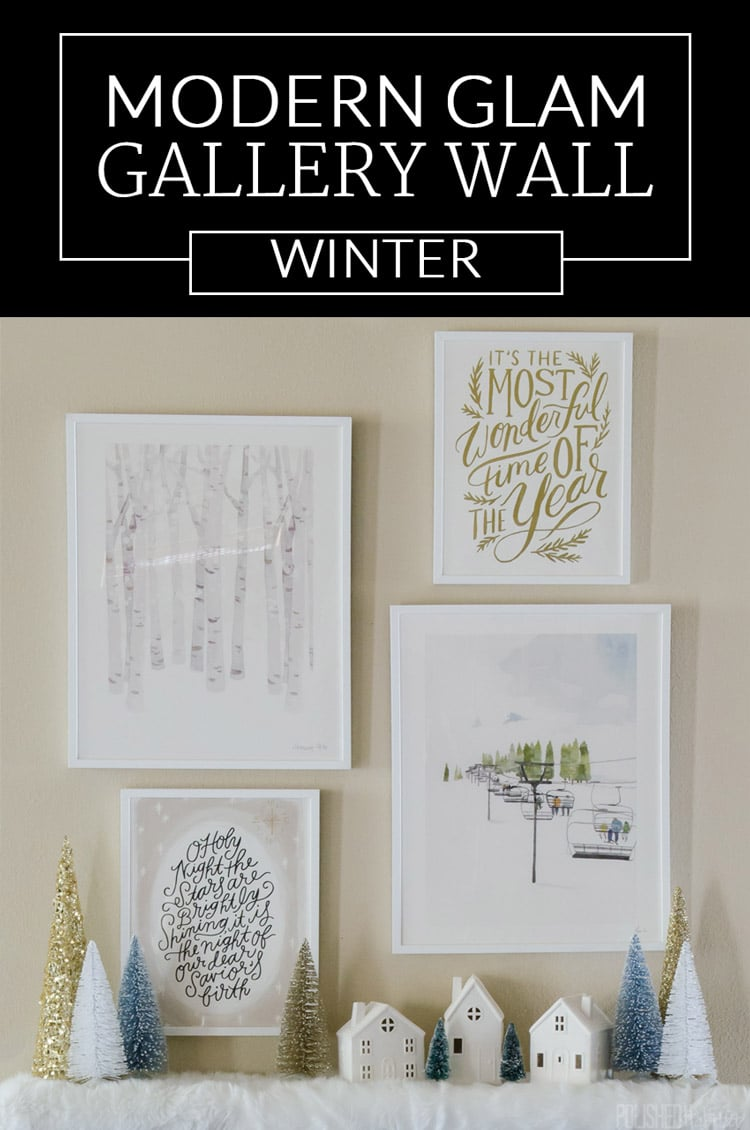 Post sponsored my Minted. Love these ideas for winter wall art and Christmas gifts