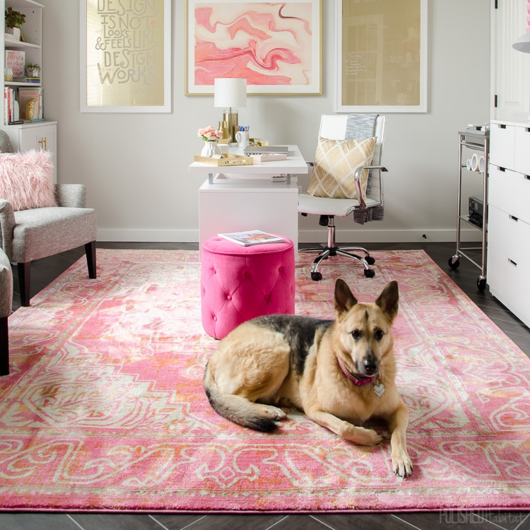 A Pink Rug For Every Style – from Modern Blush to Vintage Hot Pink