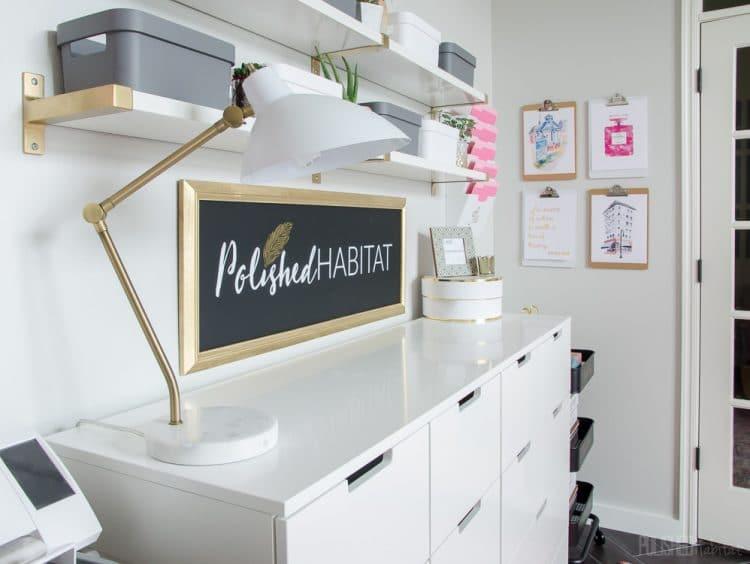 Polished Habitat Office