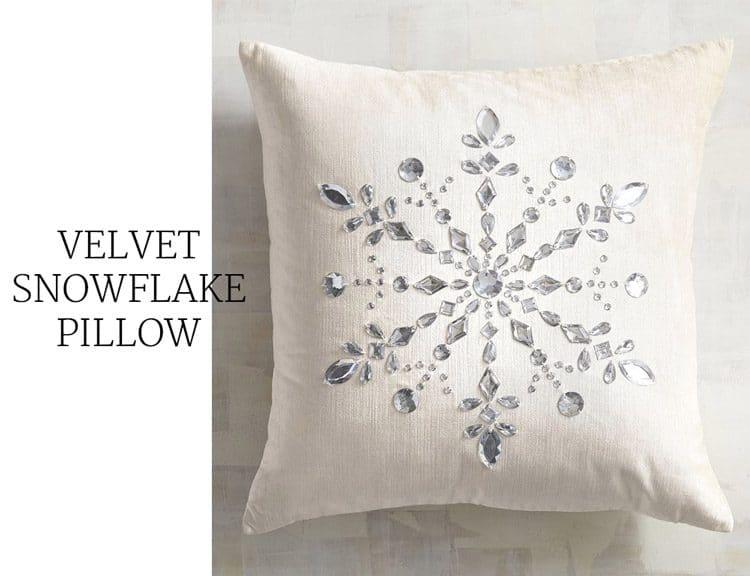 velvet-snowflake-pillow