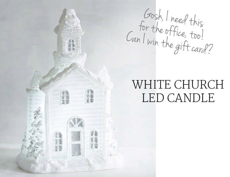 white-church-christmas-candle
