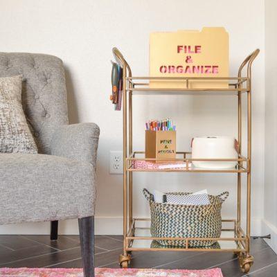 Three Ways to Add Storage with a Bar Cart