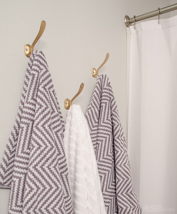 I can't believe thesetowel hooks were only $2.50 each - why didn't we add them to