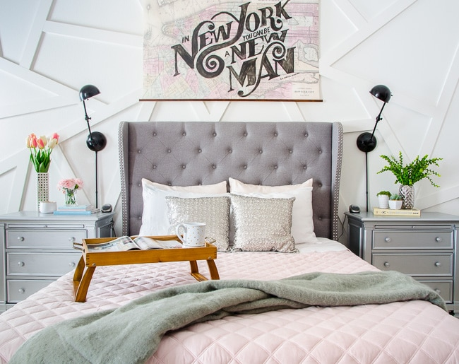 The Crazy Simple Formula For Creating A Gorgeous Bed