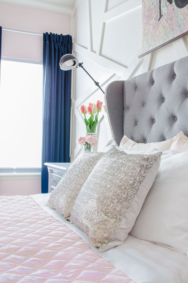 They Also Provide Texture To Give The Peaceful Color Scheme A Bit Of Pop.  The Six Components Together Add Up To A Gorgeous Bed, ...