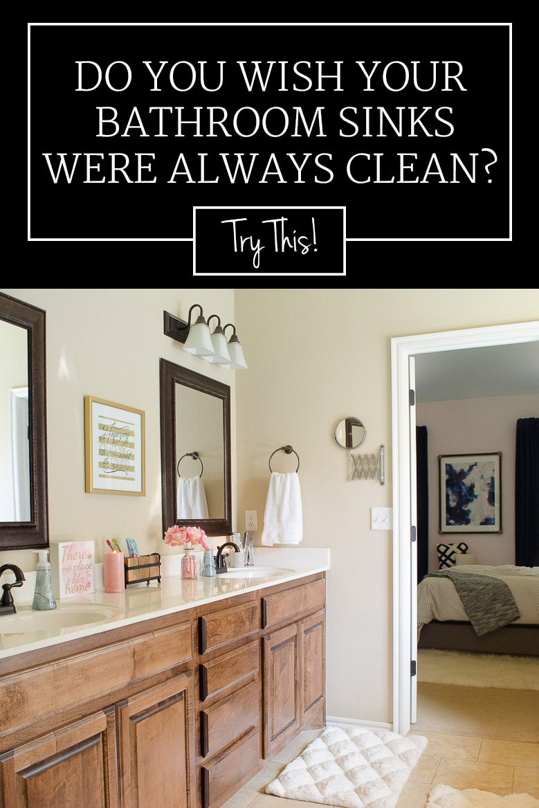 Three Easy Habits for Maintaining a Clean Bathroom Sink & Vanity
