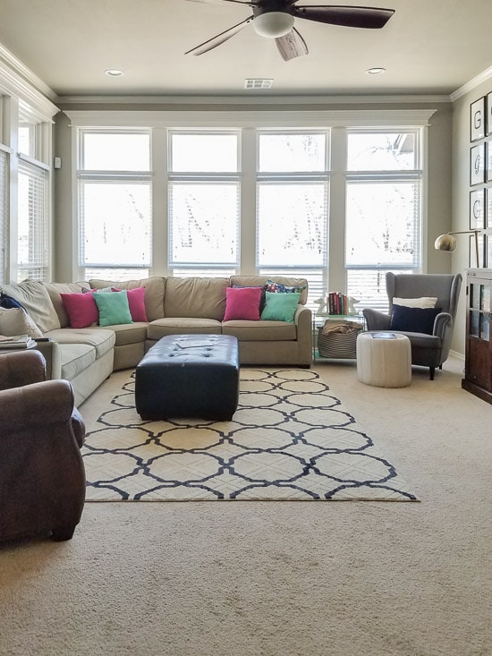 Quick decor changes that make a big difference living for Difference between living room and family room