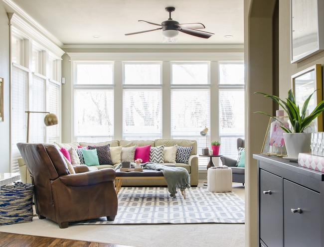 Quick Decor Changes That Make a BIG Difference - Living Room Before ...