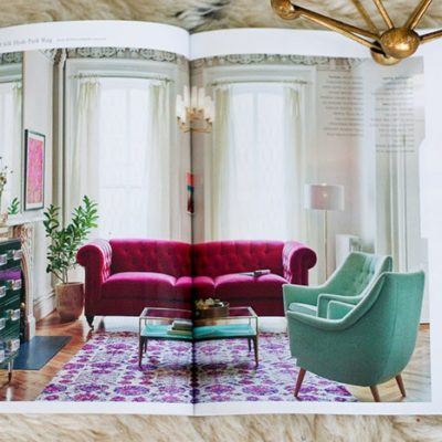HIGH vs LOW: Global Glam Living Room