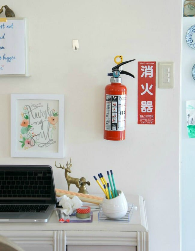 how to decorate around fuse boxes and other eyesores