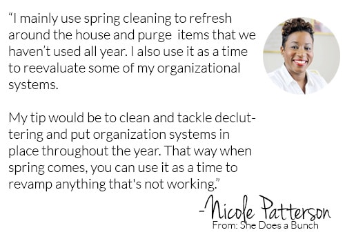 Spring Cleaning Tip from She Does a Bunch