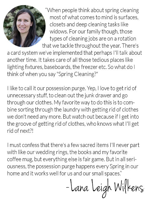 Spring Decluttering vs Spring Cleaning