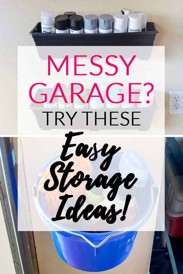 Messy Garage: Try These Easy Storage Ideas (Text)