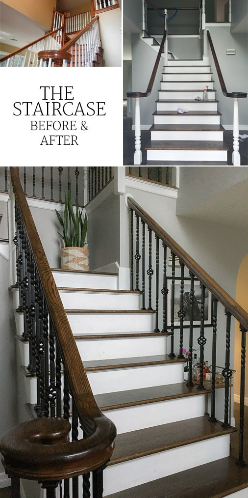 How to Update an Oak Staircase