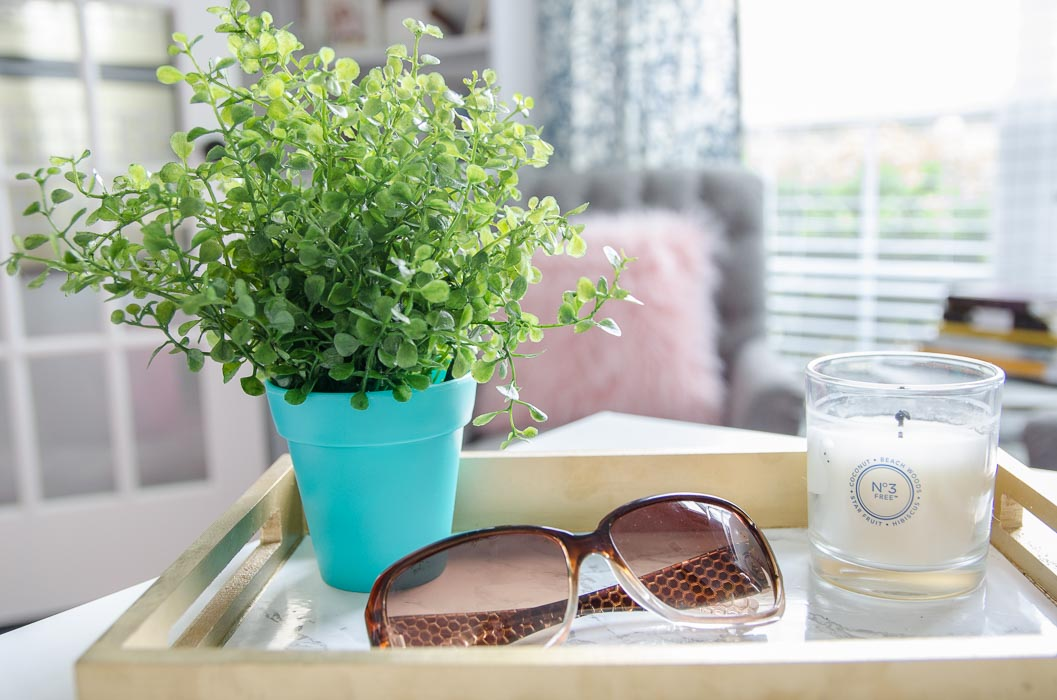 """Tips for selecting and """"planting"""" faux greenery for a modern look."""