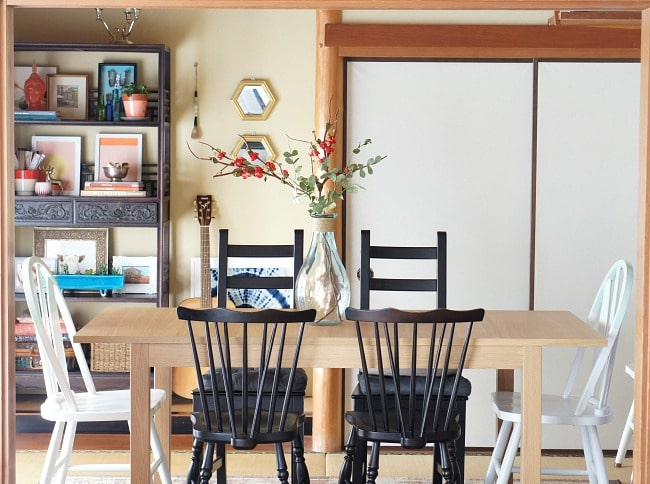 mix and match furniture for a grown up look