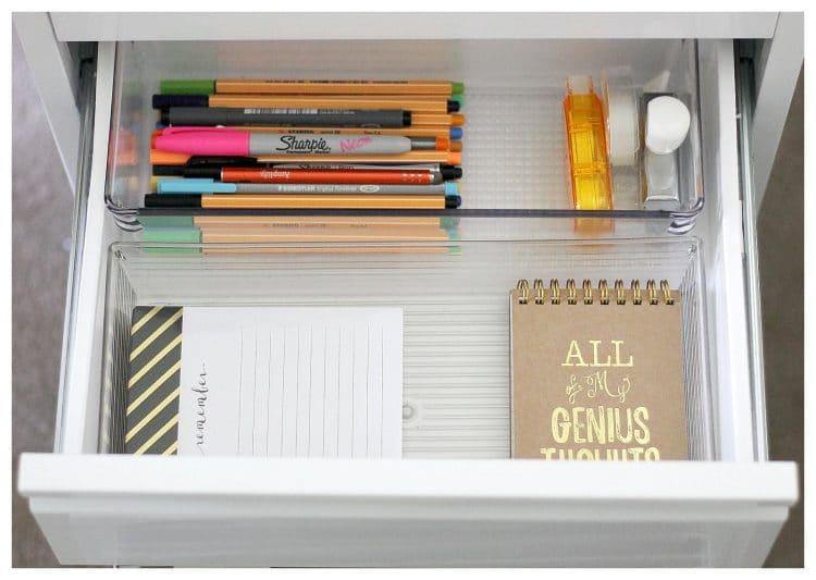 Small File Cabinet Organization