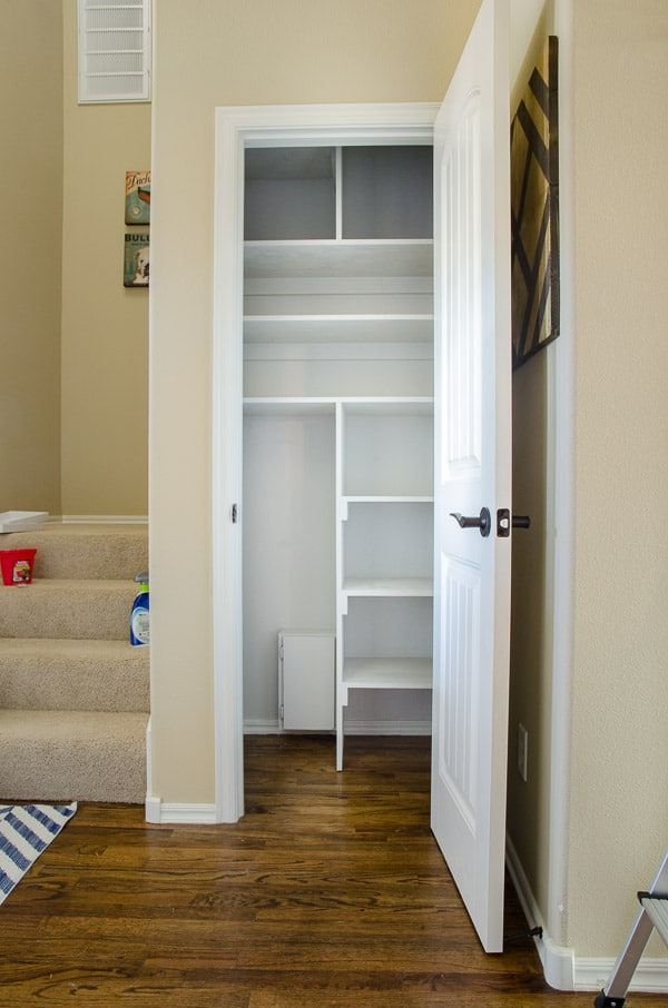 Coat Closet To Cleaning