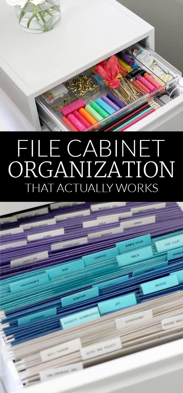 Do you have a file cabinet system that you use? If so how do you make your system work for you and your family? : organize filing cabinet - Cheerinfomania.Com