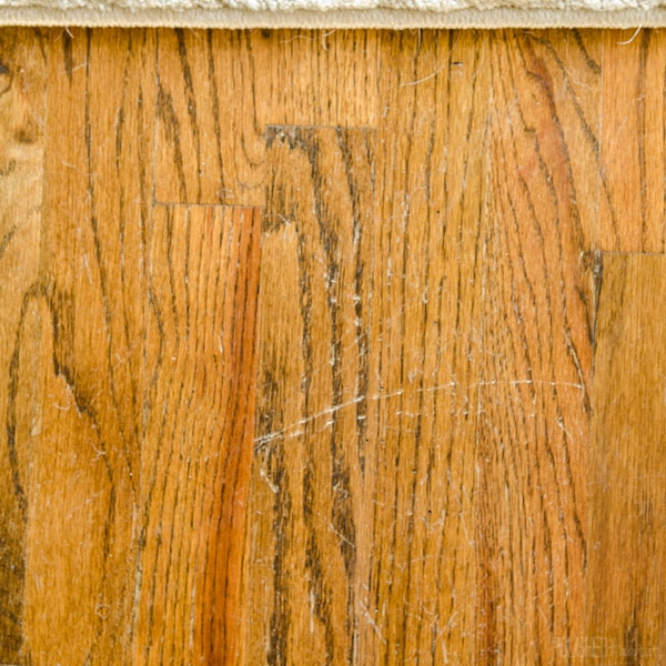 Hardwood Floor Scratch Repair the natural hack for restoring hardwood floors hardwood floor scratcheshardwood floor repairhardwood Step 1